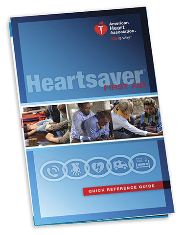 Heartsaver® First Aid Quick Reference Guide (15-1022)