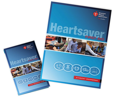 Heartsaver® First Aid Student Workbook (15-1021)