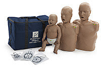 Prestan Professional CPR-AED Training Manikin (Dark Skin, With CPR Monitor) (PP-FM-300M-DS)