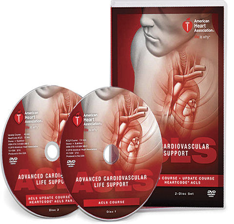 Advanced Cardiovascular Life Support (ACLS) DVD Set (15-1004)