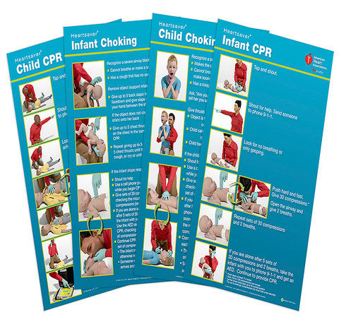 Poster Pack Heartsaver® Child And Infant (15-1029)