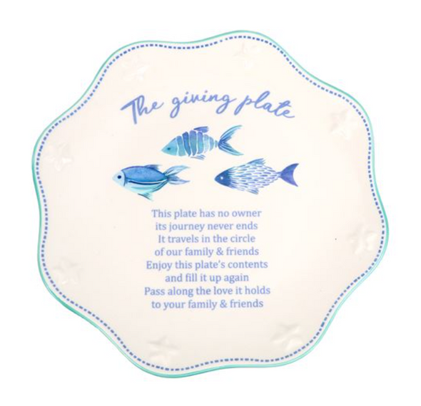 Fish in the Sea Giving Plate