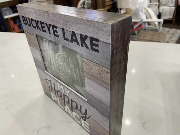 Bl Frame-Happy Place - Buckeye Lake Place