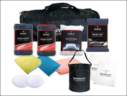 Swissvax Enthusiasts Kit - with free sports bag