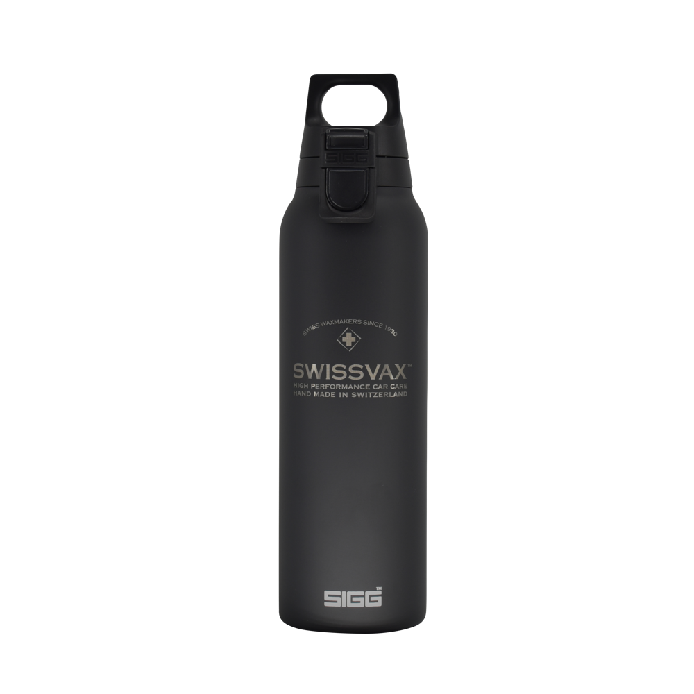 "SWISSVAX THERMAL BOTTLE ""HOT/COLD"" (Design by SIGG)"