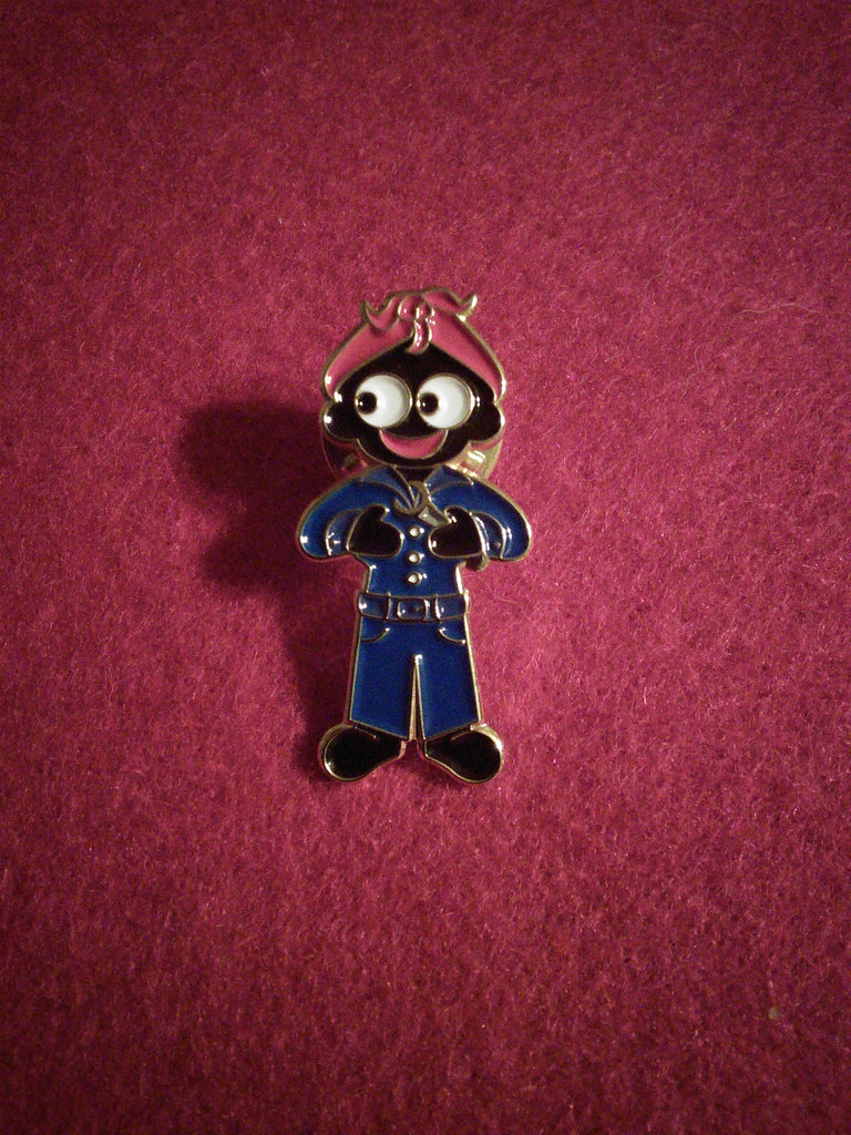 Munitions Factory Worker Golly Pin Badge
