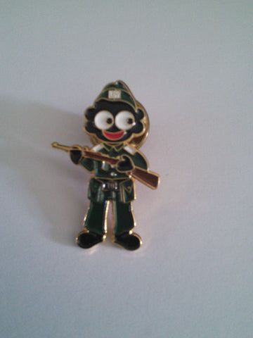 Local Defence Volunteers (Home Guard) Golly Pin Badge