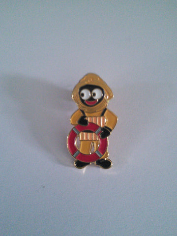 Lifeboat Crew Golly Pin Badge