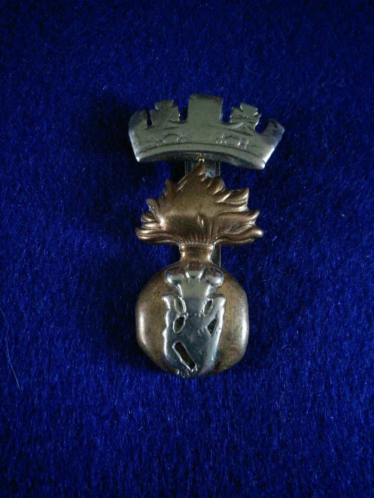 Original WW1 cap badge Princess Victoria's (Royal Irish Fusiliers)