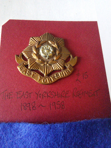 The East Yorkshire Regiment original cap badge