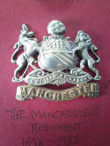 The Manchester Regiment original cap badge