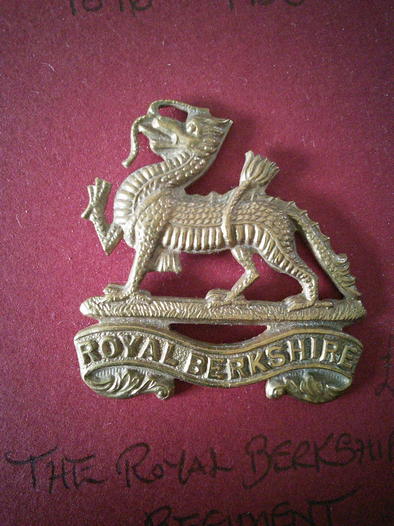 The Royal Berkshire Regiment original cap badge