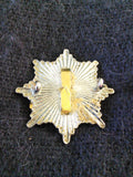 Vintage post-1974 Suffolk Fire Service cap badge