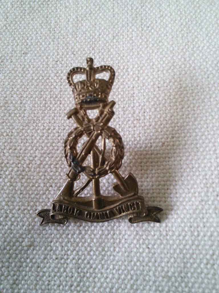 Original Royal Pioneer Corps collar badge