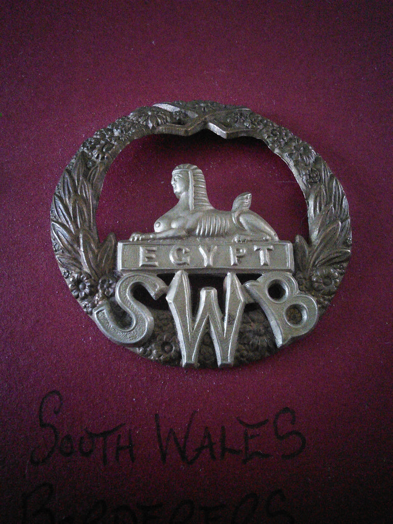 Original cap badge South Wales Borderers