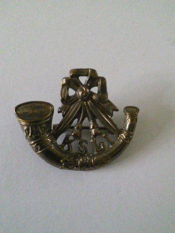 Original WW2 pin brooch King's Shropshire Light Infantry