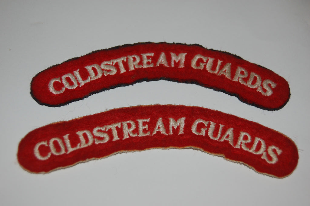Coldstream Guards Shoulder Titles