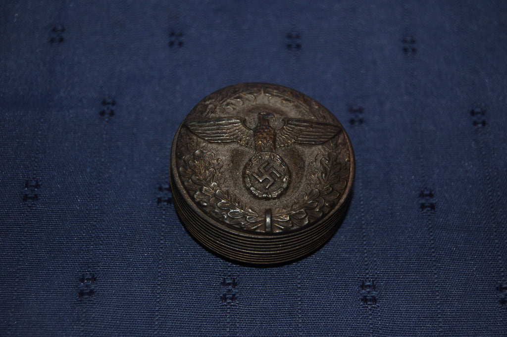 German Army Officer's Snuff Box, WW2