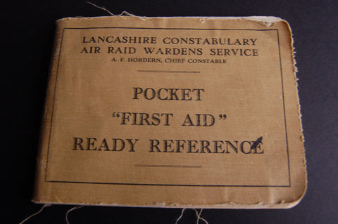 "Pocket ""First Aid"" Ready Reference"