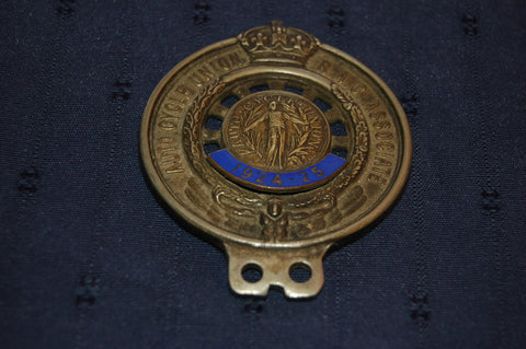 Auto Cycle Union R.A.C. Associate 1924 - 25