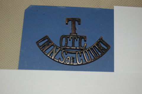 Shoulder Title Inns of Court Officer Training Corps