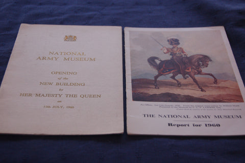 National Army Museum - Report for 1960 and Opening of the New Building programme