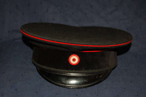 First World War Imperial German Fire Brigade Peaked Cap
