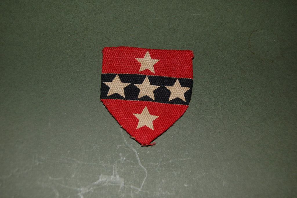 Cloth badge for the Southern Command (UK) Command Headquarters WWII
