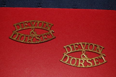 Devon & Dorset Shoulder Titles
