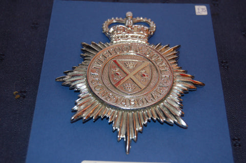 Liverpool & Bootle Constabulary Helmet Badge