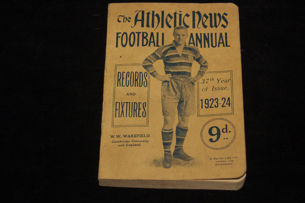 The Athletic News Football Annual 1923-24