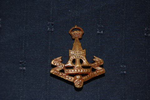 Alexandra Princess of Wales's Own (Yorkshire Regiment) cap badge, WW1