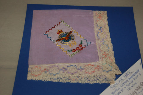 Royal Air Force Tapestry Handkerchief, WW2