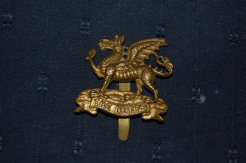 The East Kent Regiment (The Buffs) cap badge