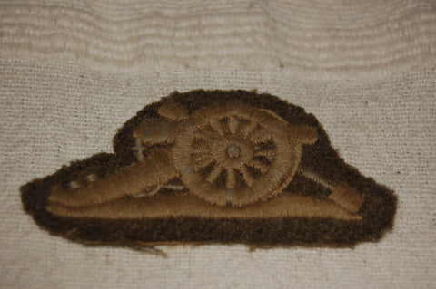 Royal Artillery Gun Badge WWII