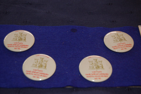 The Royal Anglian Regiment 1st Battalion Pin Badges