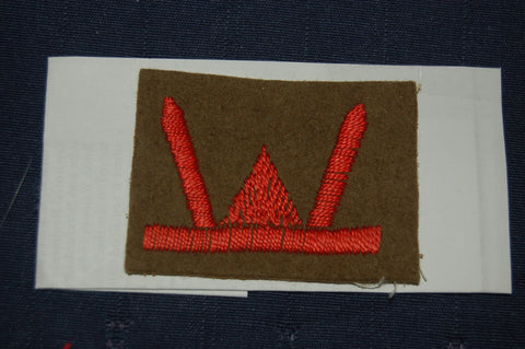 53rd (Welsh) Infantry Division cloth badge, WW2