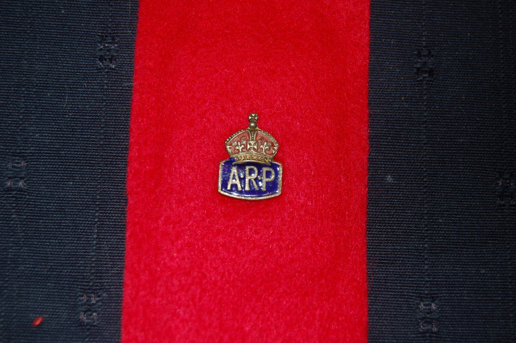 Air Raid Precaution Lapel Badge, WW2