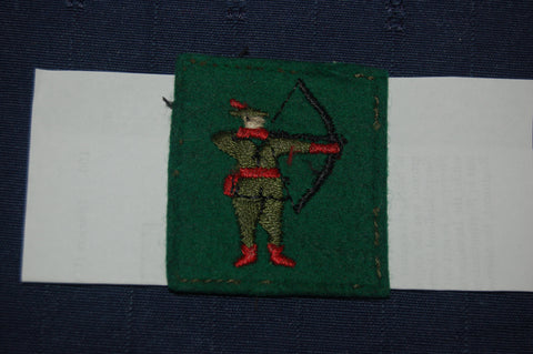 North Midland District (Northern Command) cloth badge, WW2