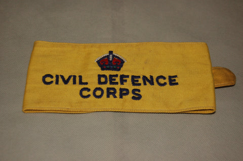 WW2 Civil Defence Corps Armband