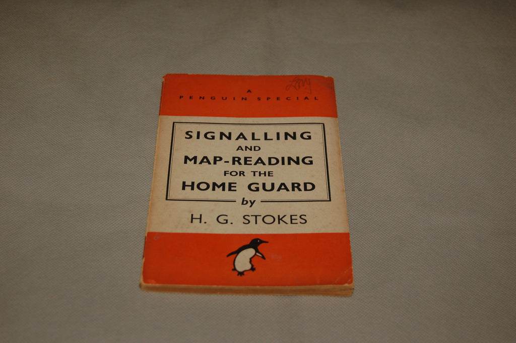 'Signalling and Map-Reading for the Home Guard', WW2