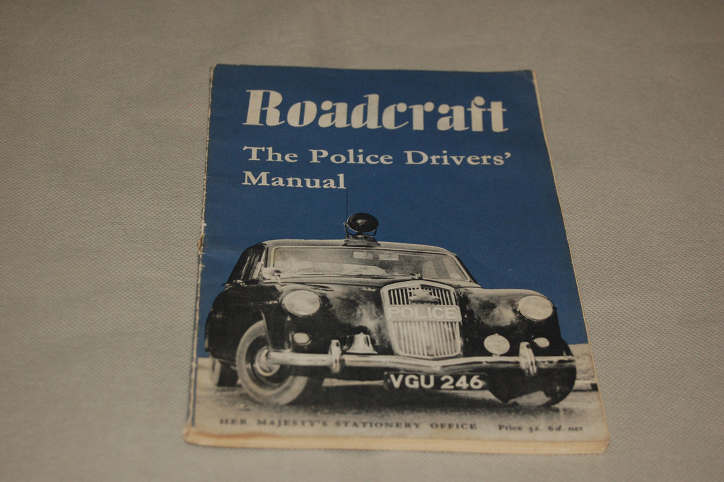 'Roadcraft - The Police Drivers' Manual' HMSO 1960