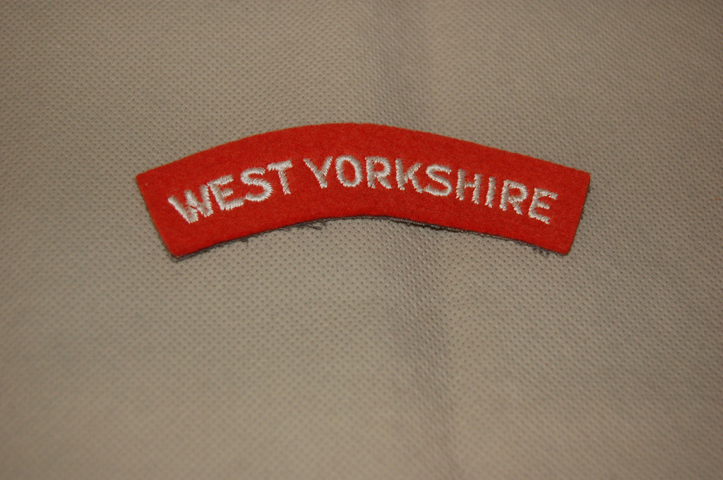 West Yorkshire Regiment shoulder title