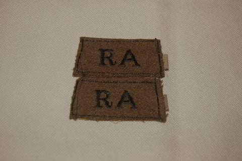 Royal Regiment of Artillery shoulder epaulettes