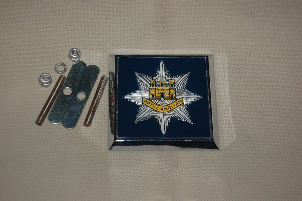 The Royal Anglian Regiment Car Badge circa 1970's