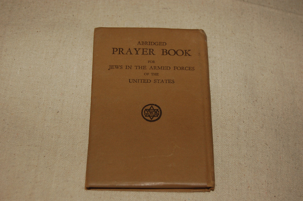 Abridged Prayer Book for Jews in the Armed Forces of the United States