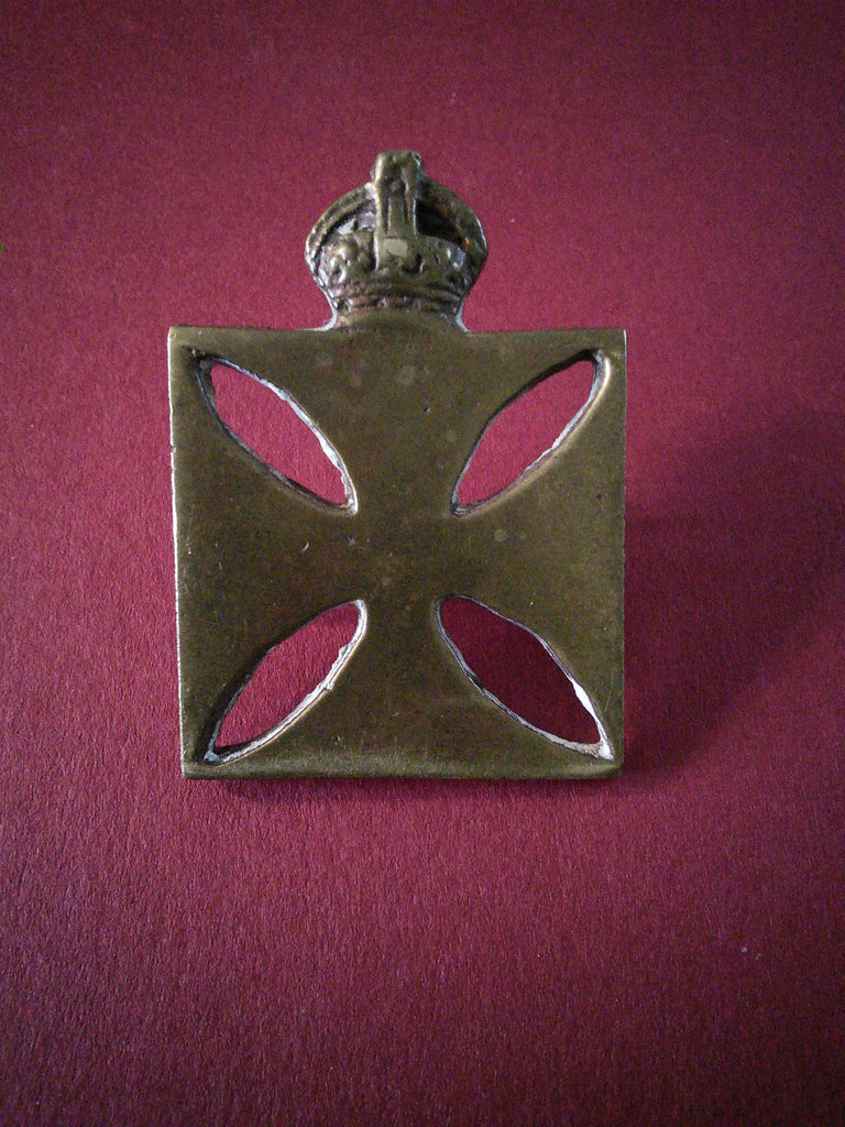 Original cap badge The Army Chaplains Department, WW1