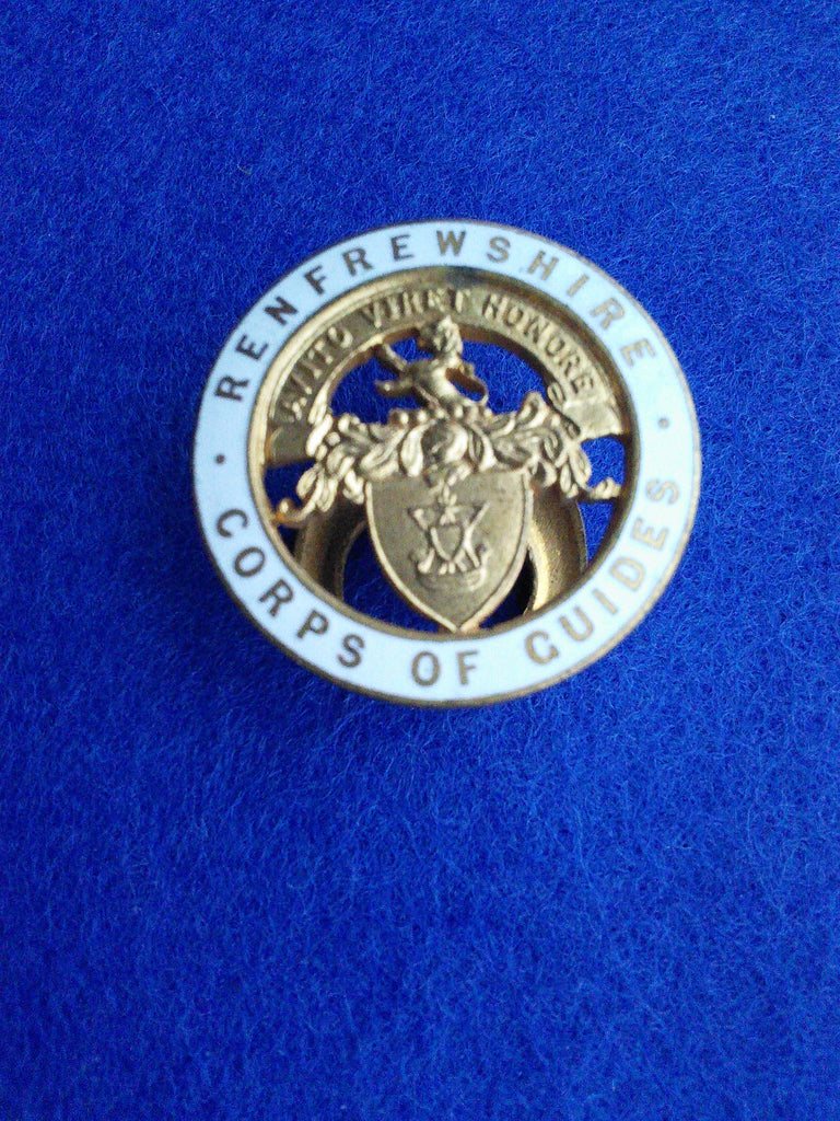 Renfrewshire Corps of Guides badge