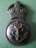 Restrike WW1 cap badge Royal Naval Division Petty Officers