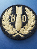 Original WW2 RAF Trade Badge 'Bomb Disposal'